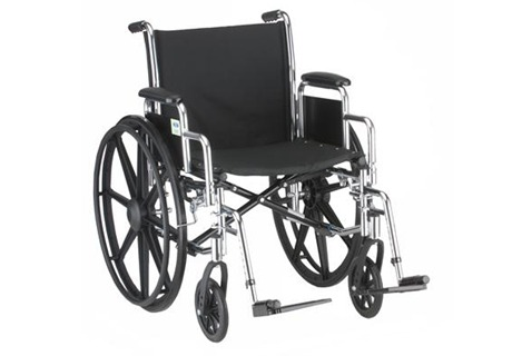 18″ Steel Wheelchair