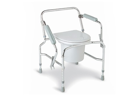 Drop-Arm Commode Commode