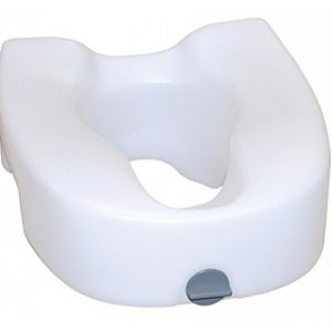 Locking Elevated Toilet Seat
