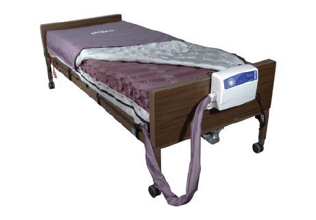 Bed Mattress System Low-Air-Loss, Alternating Pressure - 36 X 80 X 8 Inch